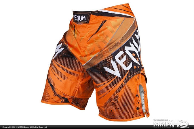 Venum Galactic Fightshorts - Neo Orange
